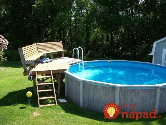 Nechcete do bazénu liať litre chémie? V tom prípade je tento nápad určený práve pre vás!
