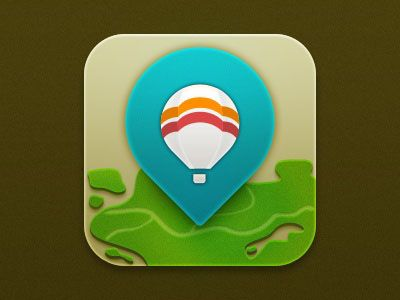 Location App-icon
