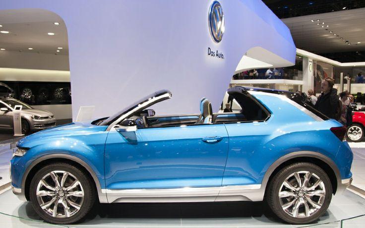 Salone dell'Auto Ginevra - Volkswagen T-Roc #ginevra #salonedellauto #Volkswagen #T-Roc