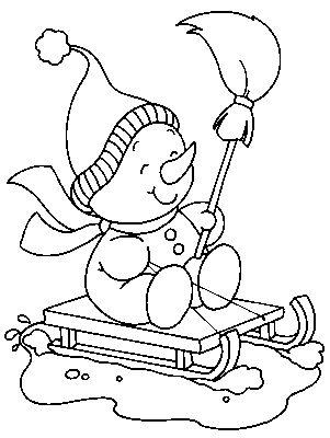 70 best Coloring - Snowman images on Pinterest