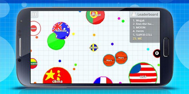El juego Agar.io hace su llegada a dispositivos Android http://j.mp/1TLMU4q |  #AgarIo, #JuegosAndroid, #JuegosWeb, #Jugar