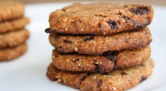 Suikervrije koekjes van amandelmaal