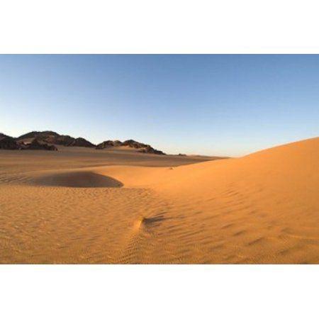 Akakus Sahara Desert Fezzan Libya Canvas Art - Sergio Pitamitz DanitaDelimont (35 x 23)