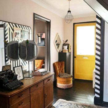 Nossa reforma da escada DIY: Paint + Runner   – Home diy