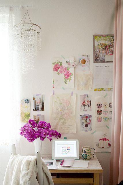 Bedroom Office of Annetta Bosakova | Flickr - Photo Sharing!