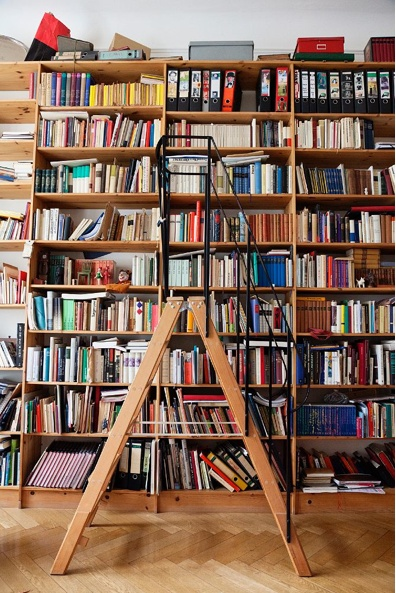 I've always wanted a library with a ladder haha