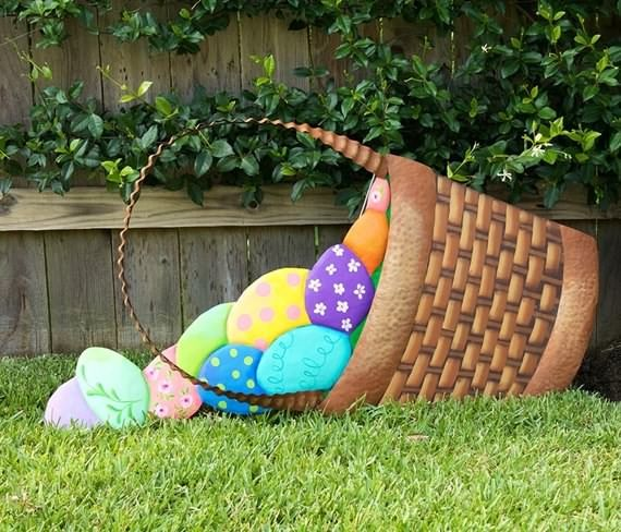 Outdoor Easter Decorations Ideas Easter Yard Decorations Wooden Easter Decorations Easter Outdoor