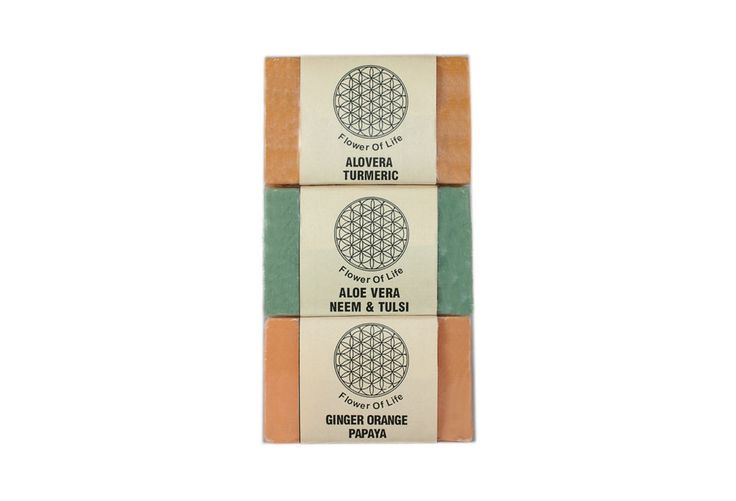 Flower of Life Ayurvedic Super Saver Soap Pack