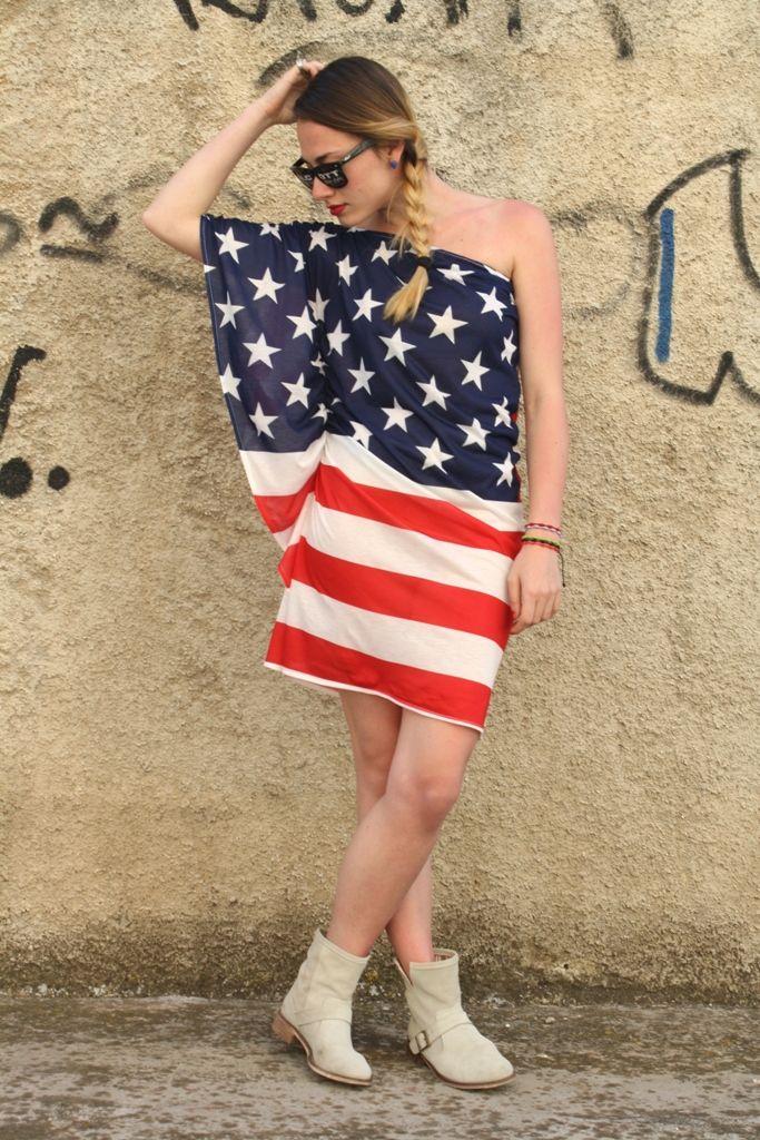 i love america, i love alcott american dress