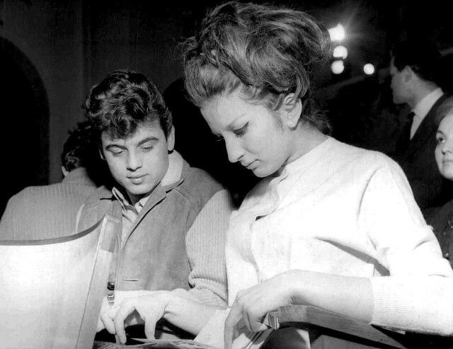 Mina i Little Tony, Sanremo, 1961