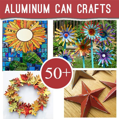 50+ Ways to Repurpose Aluminum cans into great recycled jewelry, crafts and decor @savedbyloves