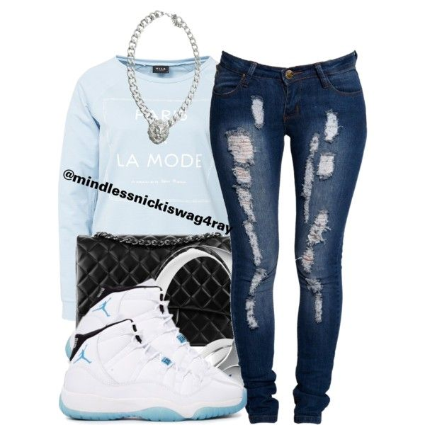 by mindlessnickiswag4ray on Polyvore · Jordan Shoes ...