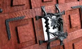 Image result for black wrought iron door knockers