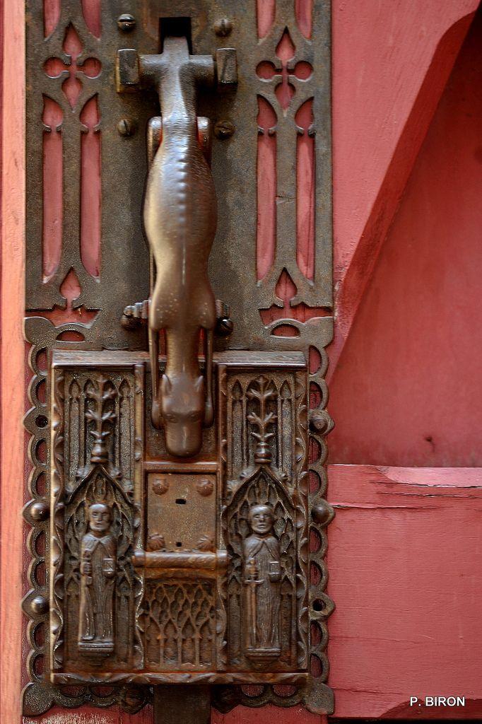 120 best old ironwork images on Pinterest | Lever door handles, Door ...