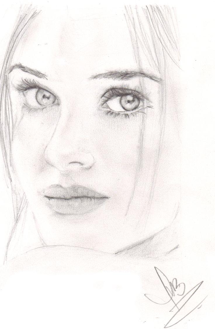 Картинки карандашом для начинающих портреты