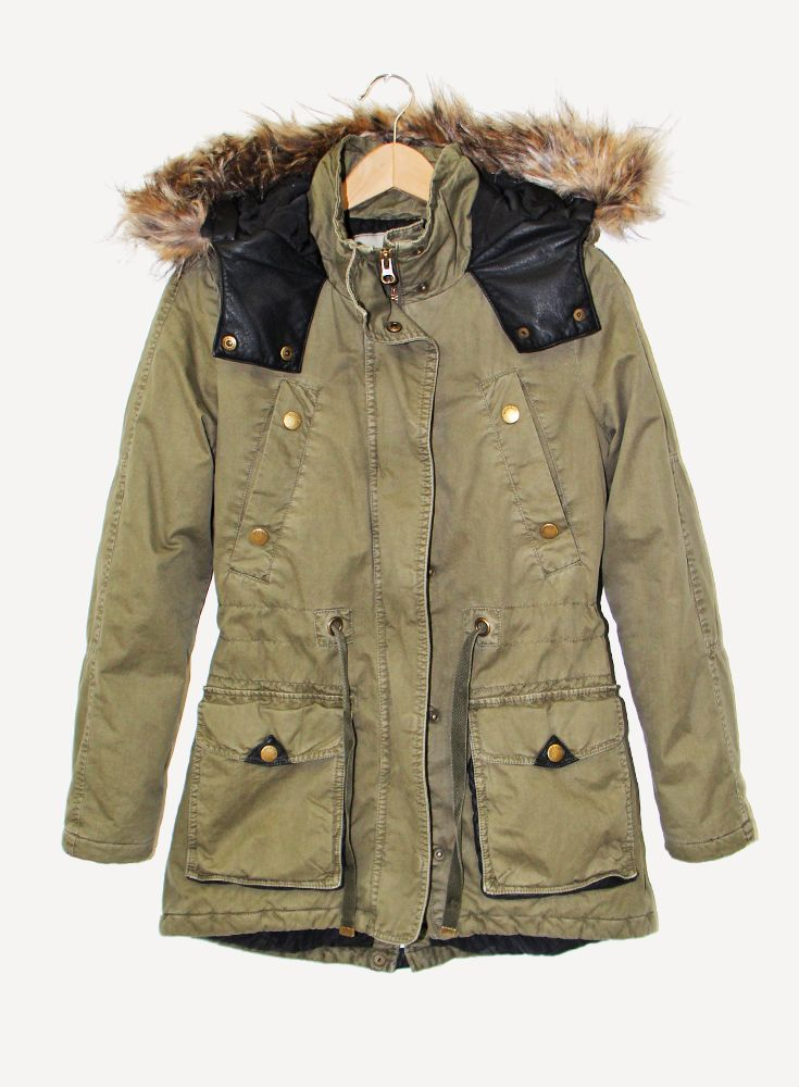 Cotton Maple Parka #hotforholiday #garageholidaywishlist