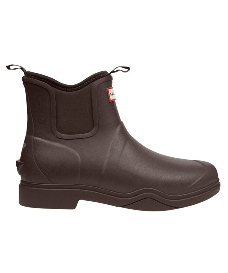 Hunter Balmoral Equestrian Short Neoprene Boots - Black