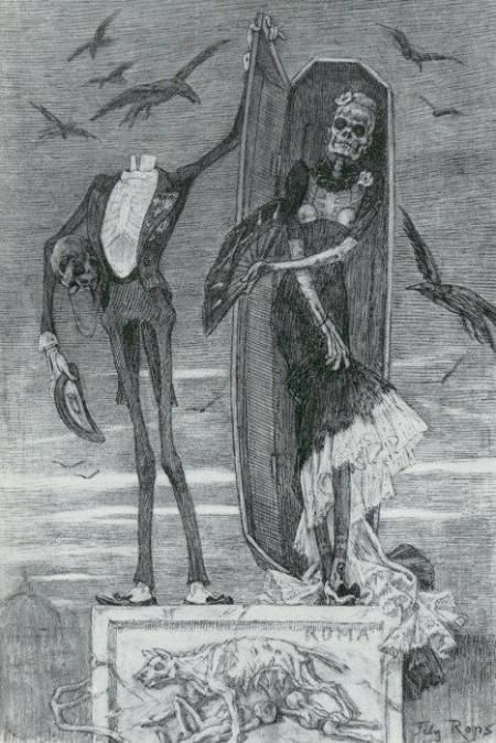Felicien Rops I LOVE THIS!!