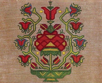The Textile Blog: Traditional Bulgarian Embroidery