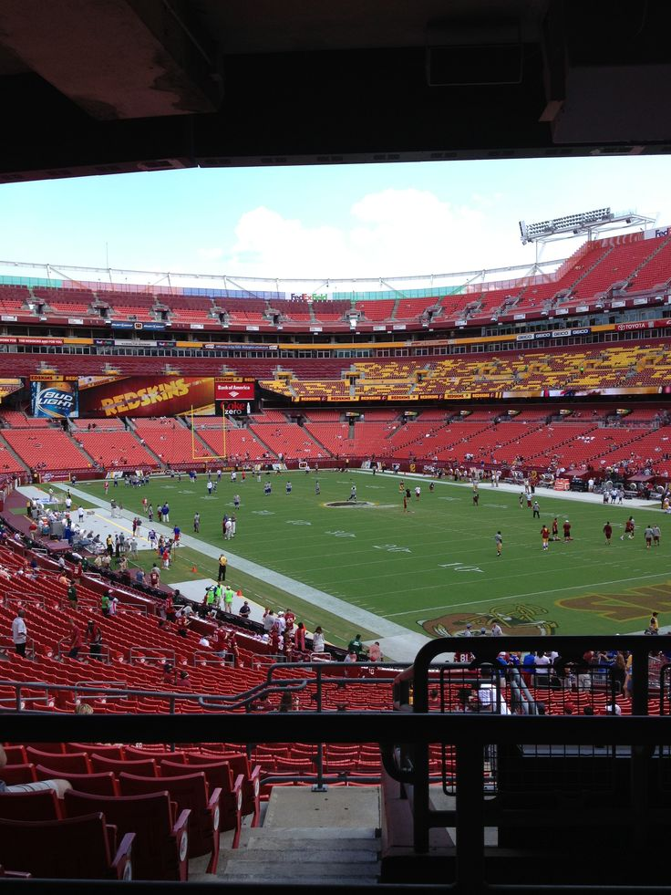 It feels good to be back at FedEx Field!
