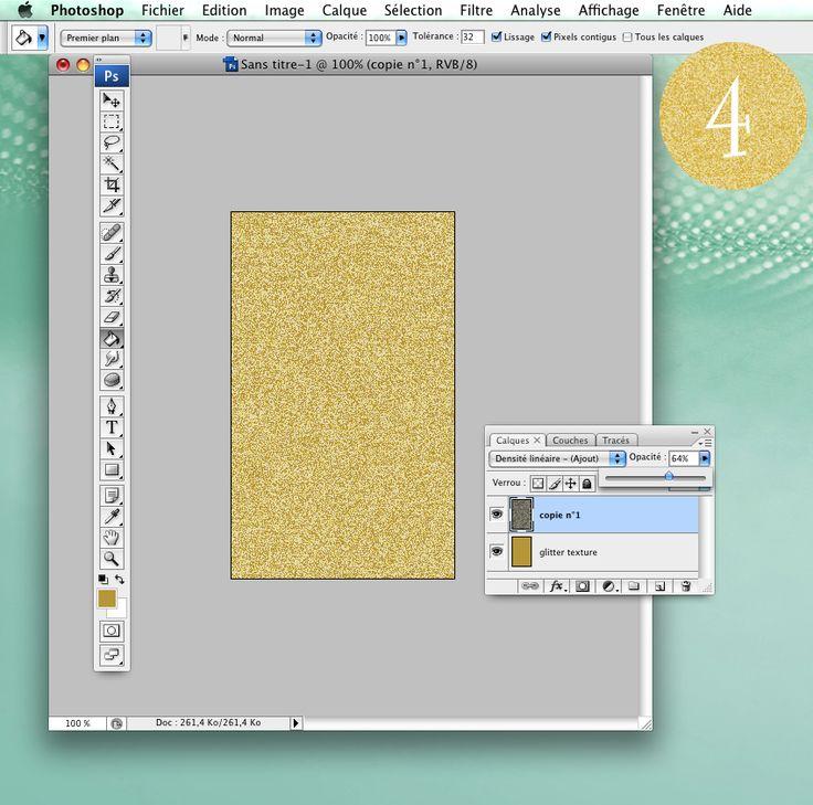Aujourd'hui je vous propose un petit tutoriel sur photoshop, je vais vous parler de brillant, de pailleté, de doré et de glitter ! Les paillettes c'est un peu l'envoutement des filles,alors je vais vous montrer comment en 4 étapes assez simple vous pouvez sous photoshop obtenir une texture pailleté qui peut par la suite vous …