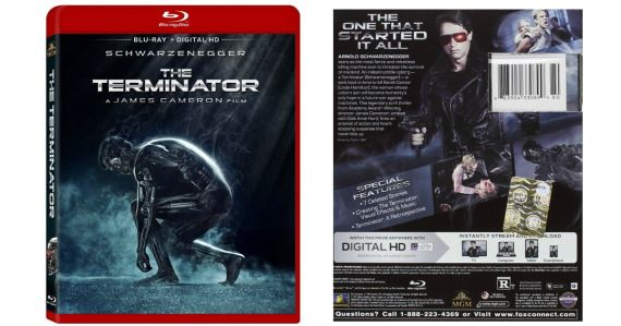 Score this Terminator Blu Ray   Digital HD disc for this super low price!