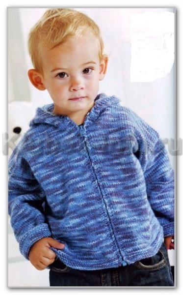 Клубок вязание жакет для мальчика