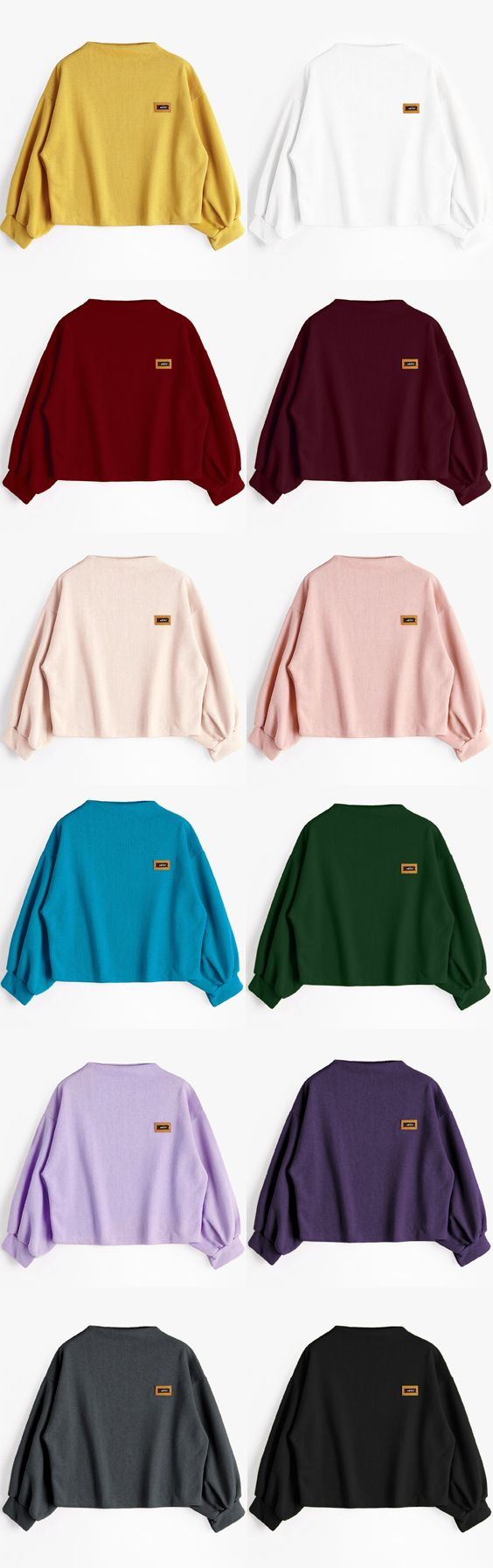 Up to 68% OFF! Badge Patched Lantern Sleeve Sweatshirt. Zaful,zaful.com,zaful fashion,tops,womens tops,outerwear,sweatshirts,hoodies,hoodies outfit,hoodies for teens,sweatshirts outfit,long sleeve tops,sweatshirts for teens,winter outfits,fall outfits,tops,sweatshirts for women,women's hoodies,womens sweatshirts,cute sweatshirts,floral hoodie,crop hoodies,oversized sweatshirt, halloween costumes,halloween,halloween outfits,halloween tops,halloween costume ideas. @zaful Extra 10% OFF…