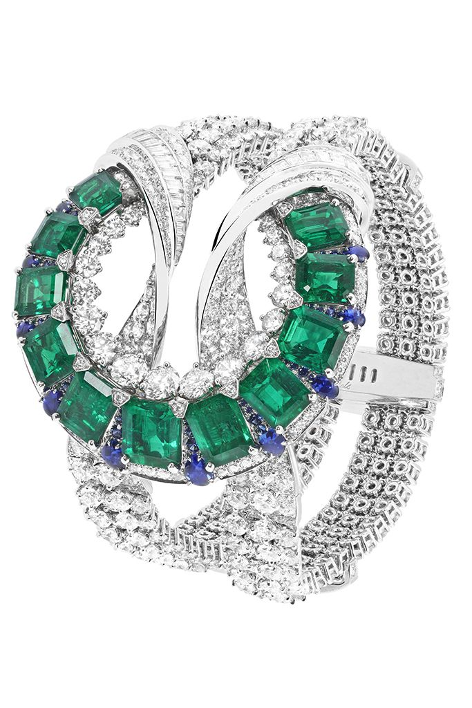 A design from the Emeraude en Majeste collection by Van Cleef & Arpels