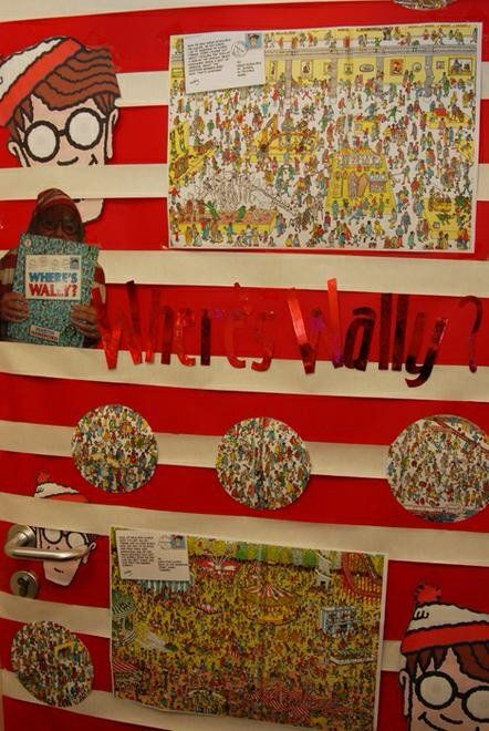 Literacy, Where's Wally, Picture Books, Where's Wally Book, Finding, Display, Classroom Display, Early Years (EYFS), KS1 & KS2 Primary Teaching Resources