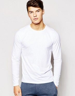 Jack & Jones Long Sleeve T-Shirt In Regular Fit
