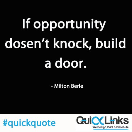 If you want us to help building the opportunities please log on to http://www.quicklinks.ie or call us at 01-906586
