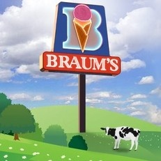 Residents of Briarmeade are just a hop, skip, and a jump away from great ice cream and food, (not to mention dairy) at Braums!!