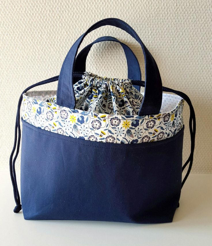 Lunch bag liberty (+lien vers tuto)