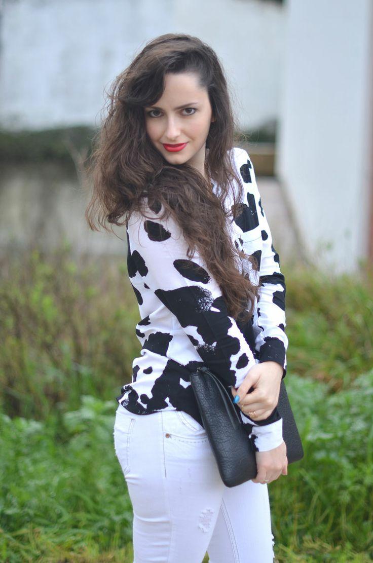 Cow print around...