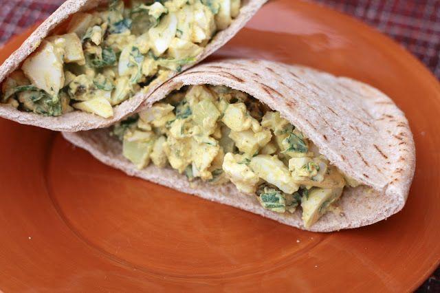 Curried Egg Salad   Eat: Salads - Chicken, Egg or Tuna   Pinterest