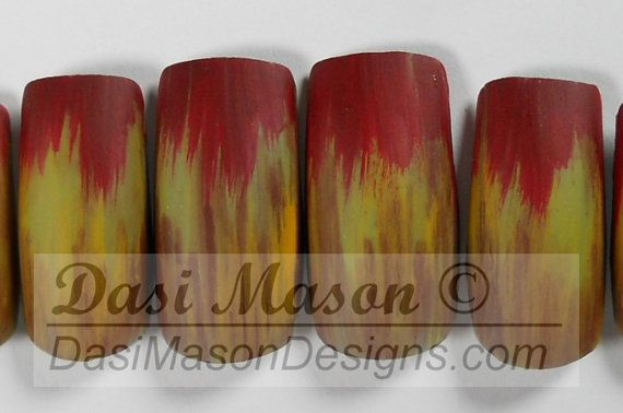 Zombies  Instant Acrylic Nail Set by dasimason on Etsy