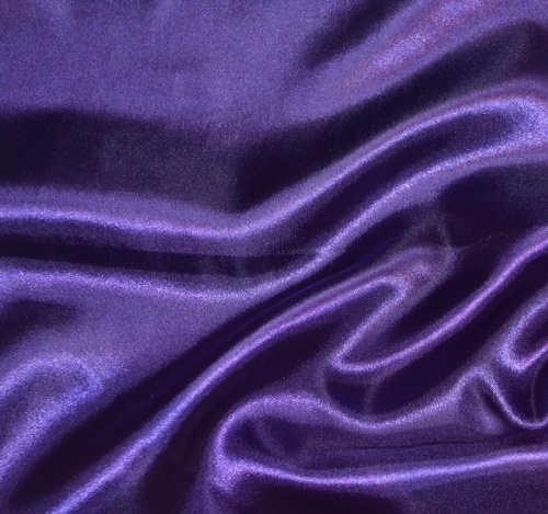 Regency Purple Satin Tablecloths Color Scheme Regal