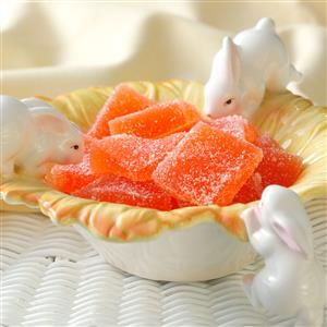 Orange Jelly Candies Recipe from Taste of Home