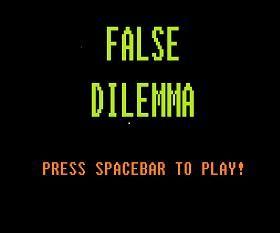 False Dilemma - http://www.funtime247.com/shooting/false-dilemma/