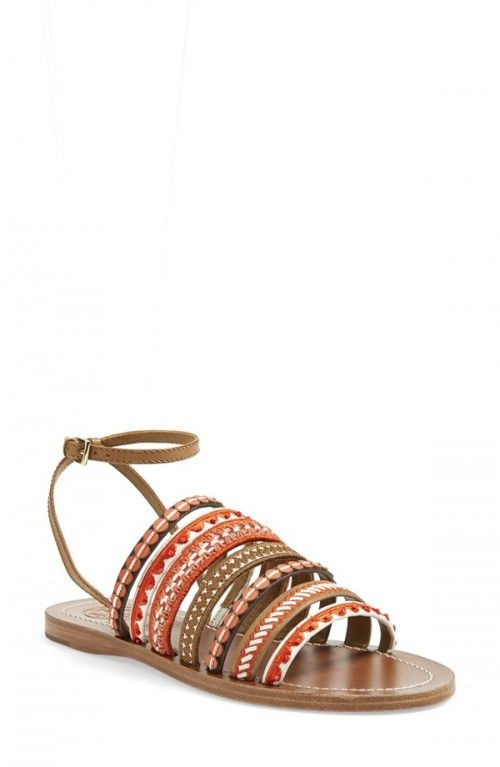 Tory Burch Women's Mixed Trim Sandals | Shoes and Footwear