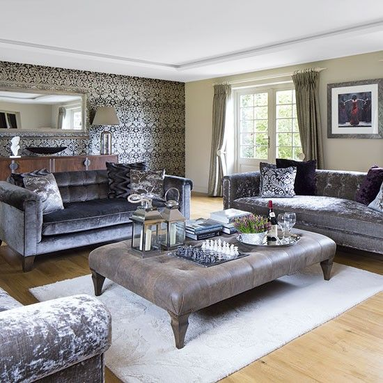 Best 25+ Glamorous living rooms ideas on Pinterest | Glam ...