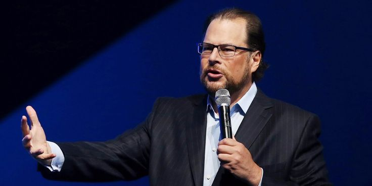 There's been widespread concern that a weaker macro environment would decrease corporate spending on IT. But Salesforce says it doesn't see any of it.
