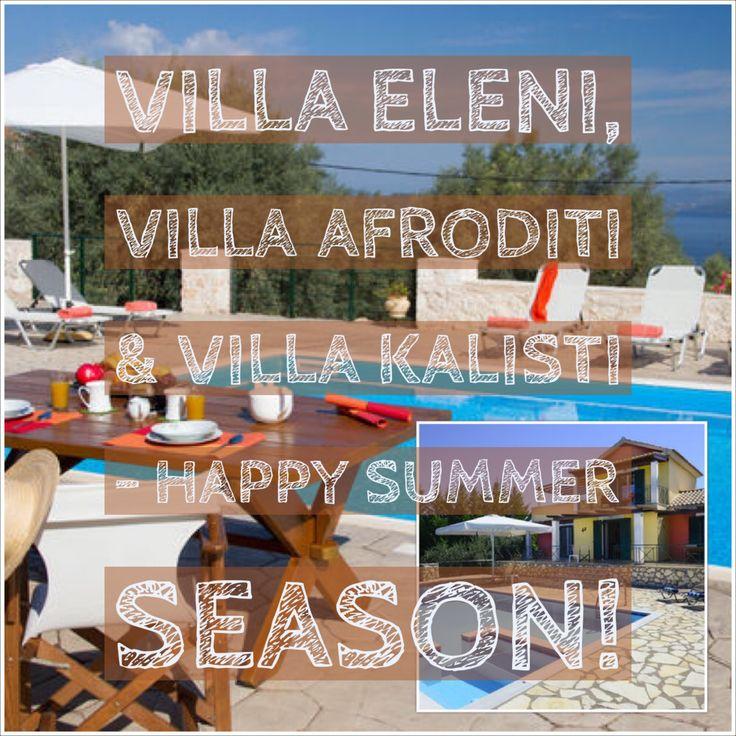 Villa Eleni, Villa Afroditi & Villa Kalisti