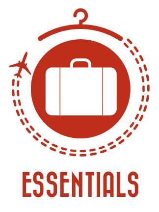 Travel Essentials packing list shows you how to pack light and have the right clothes, whether you're going on a Round-the-World trip or a 2 week vacation.
