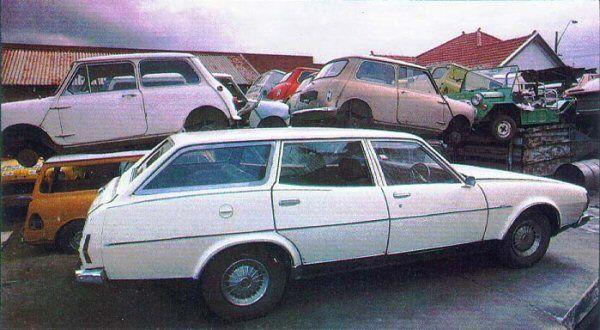 Leyland P76 - Station Wagon proposal (cancelled), dec. 1973