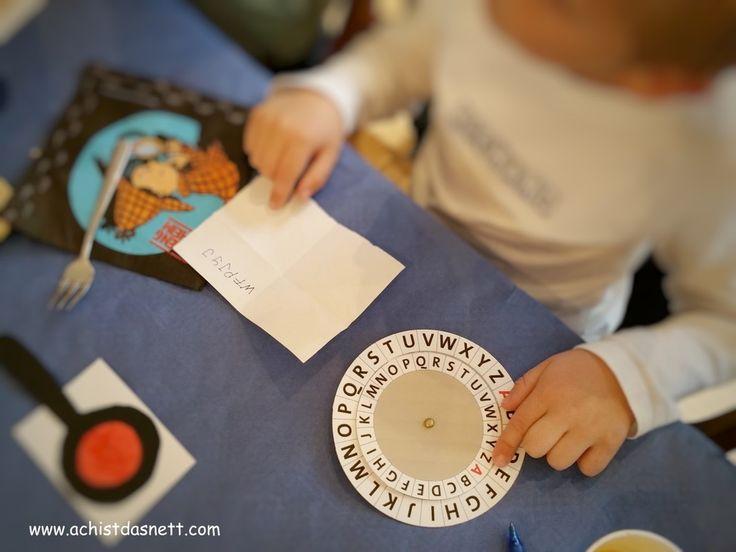 Alle Ideen Für Einen Gelungenen Detektivgeburtstag! Einladung, Kuchen, Deko,  Spiele, Geschenkideen