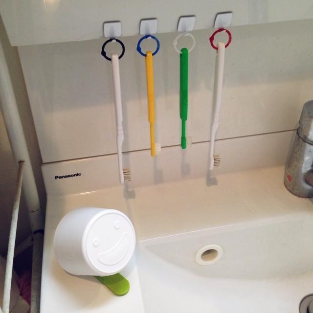 賃貸でもOK!100均で作る☆狭い洗面台の簡単DIYおしゃれ収納術♪の9枚目の写真 | マシマロ
