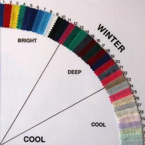 Personal Color Analysis - Winter Colors