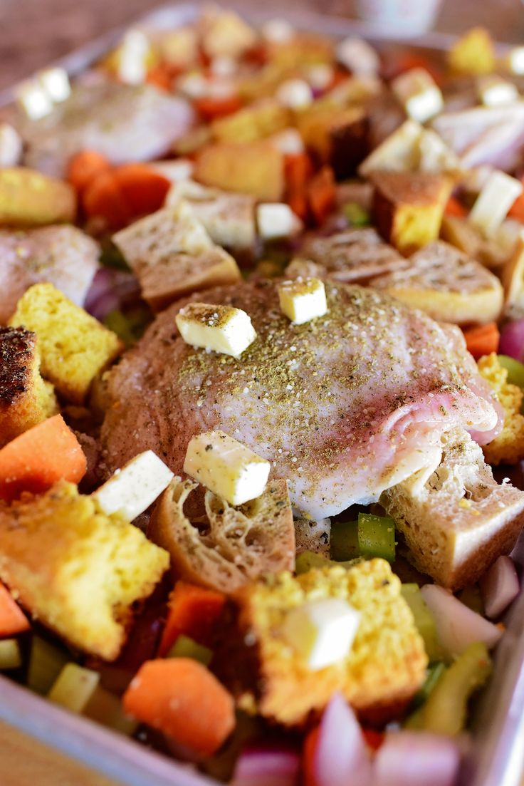 I have partnered with Land O' Lakes to bring you this deliciousness. Have you ever wanted a big taste of Thanksgiving without going through all the steps to make a huge turkey dinner? Well, I…